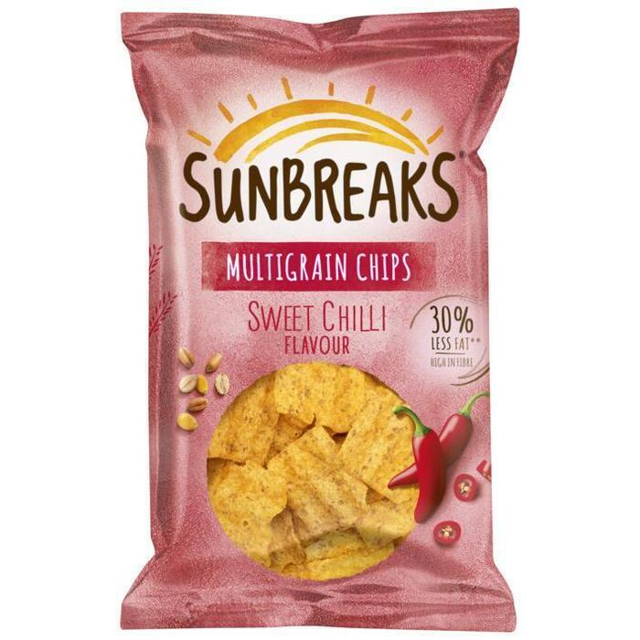 Sweet Chilli meergranen chips (95g)