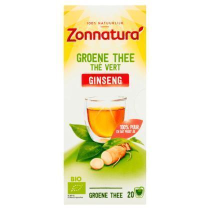 Zonnatura Groene thee ginseng (36g)