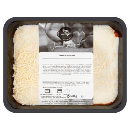 Vers Aan Tafel Lasagne Bolognese 570 g (570g)