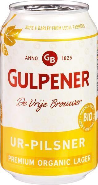 Gulpener bier Ur-Pilsner 330 ml blik (33cl)