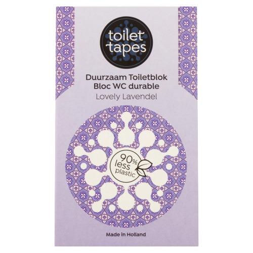 Toilet Tapes Duurzaam Toiletblok Lovely Lavendel 18 g (18g)