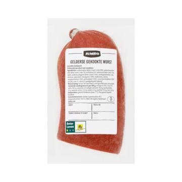 Jumbo Verse Vleeswaren Gekookte Gelderse Worst ca. 250 g (400g)