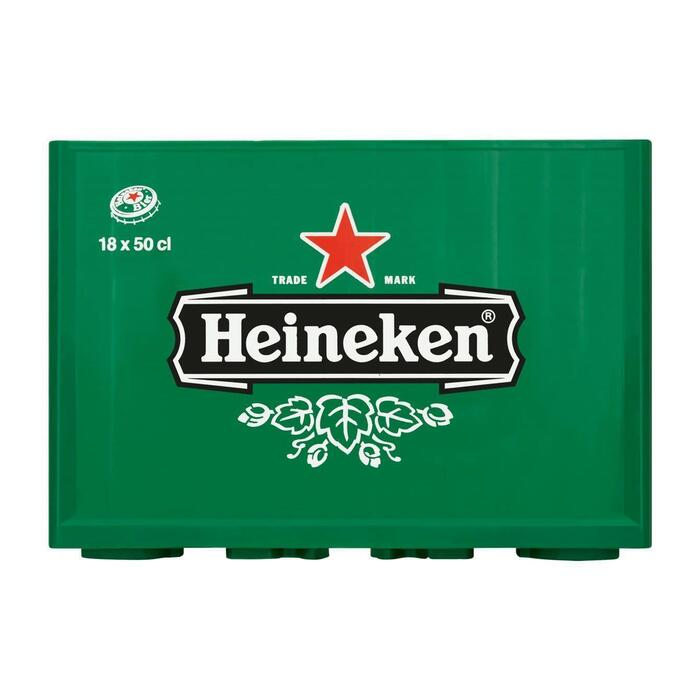 Heineken Bier 18 x 50cl (18 × 9L)
