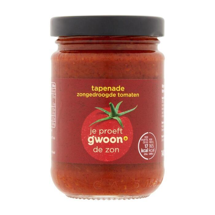 g'woon Tapenade zongedroogde tomaat (140g)