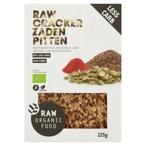 Cracker Zaden Pitten (doos, 125g)
