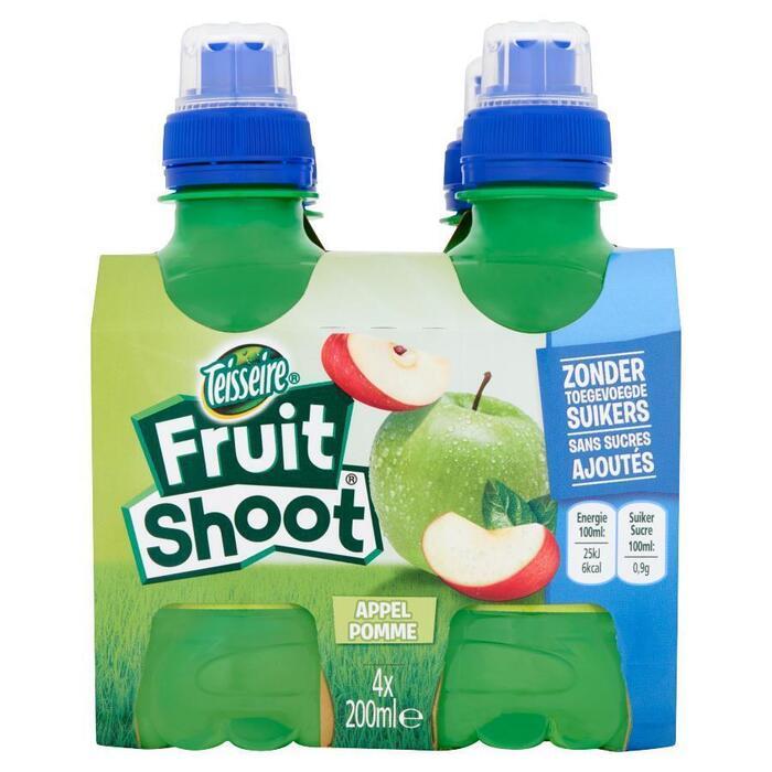 Fruitshoot Appel 0% GST (4 × 0.8L)