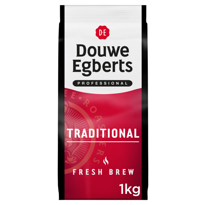 DOUWE EGBERTS FRESH BREW TRADITIONAL (1kg)