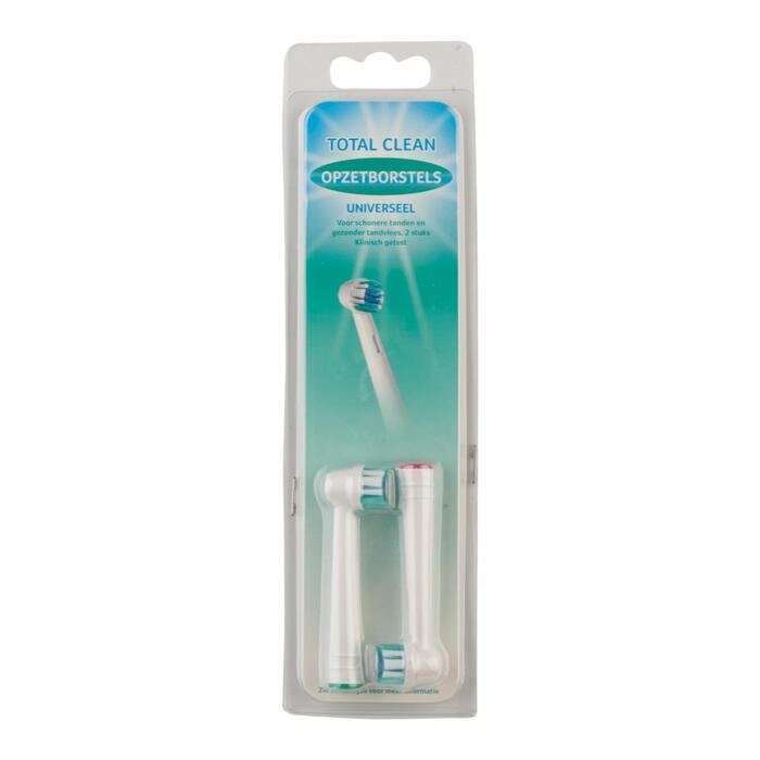 Opzetborstels voor electrische tandenborstel