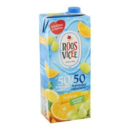 Roos Vicee, 50/50 Frisfruit (pak, 1.5L)