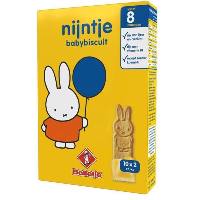Nijntje Babybiscuit (doos, 125g)