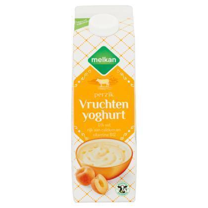 Magere Yoghurt met Perzik (1L)