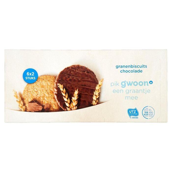 g'woon Granenbiscuit chocolade (195kg)