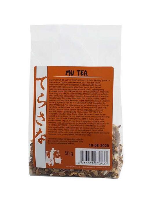 Mu thee 16 kruiden TerraSana 50g (50g)