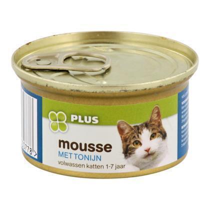 Kattenmousse tonijn (85g)