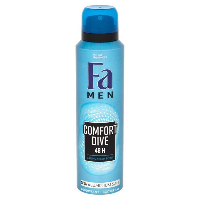 Fa Men Comfort Dive 48u Deodorant Spray 150 ml (150ml)