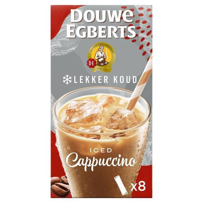 Douwe Egberts Oplos iced cappuccino (8 × 17.8g)