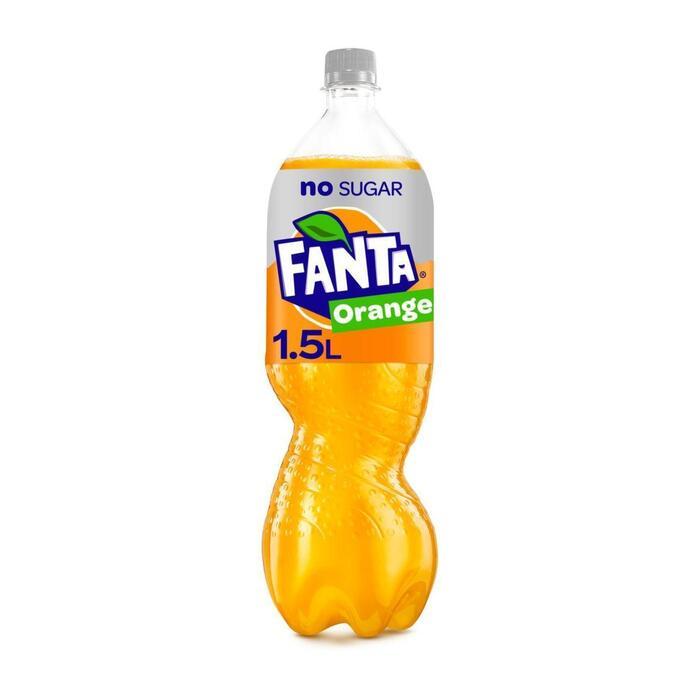 Fanta Orange Zero (rol, 1.5L)