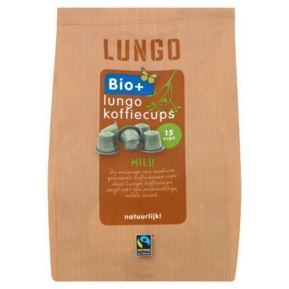 Lungo koffiecups (15 × 75g)