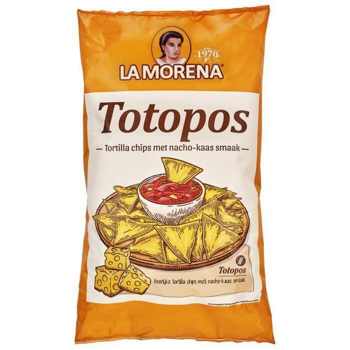 La Morena Tortilla chips met nacho-kaassmaak (475g)