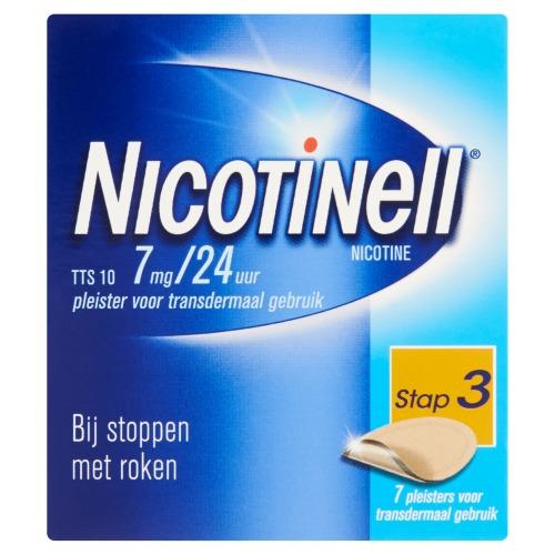 Nicotinell Pleister TTS 10 7 Stuks