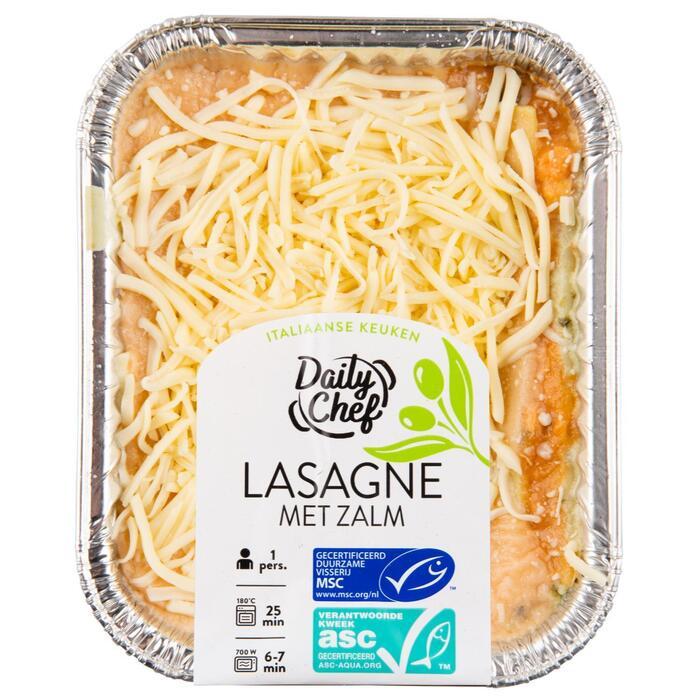 Lasagne zalm (400g)