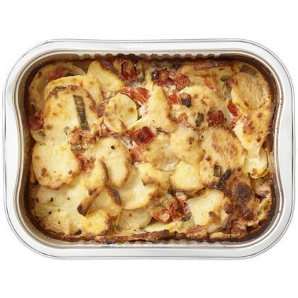 Aardappel gratin tomaat en bosui (530g)