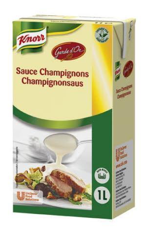 Knorr Garde d'Or Champignonsaus (6 × 1L)