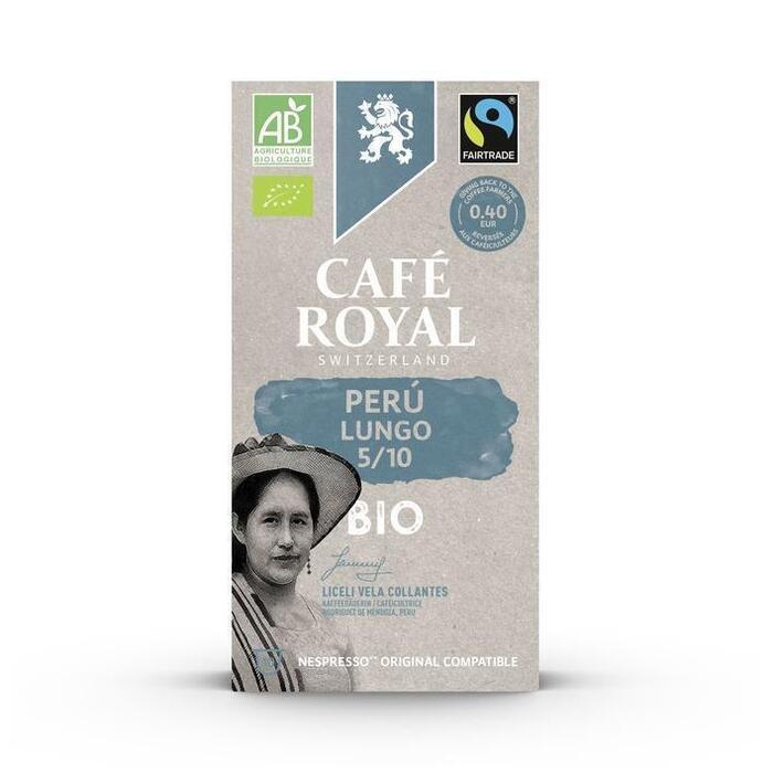 Café Royal Peru lungo nespresso