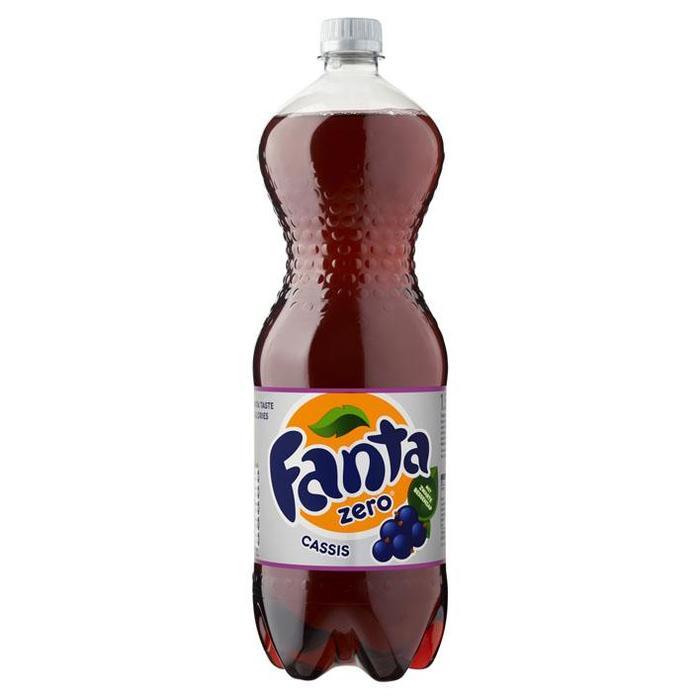 Fanta Cassis Zero (petfles, 1.5L)