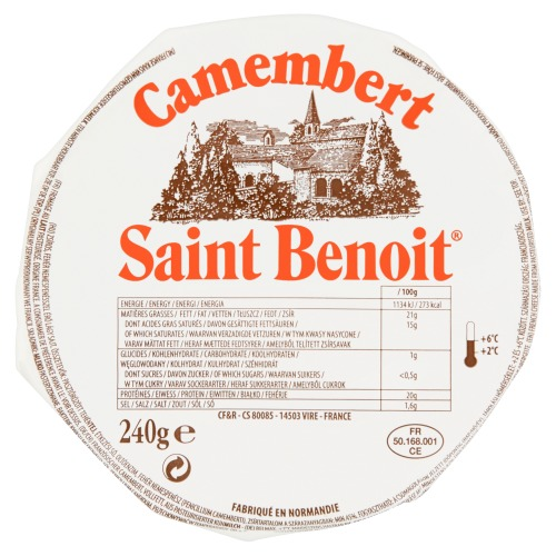 Saint Benoit Camembert Kaas 240g (240g)