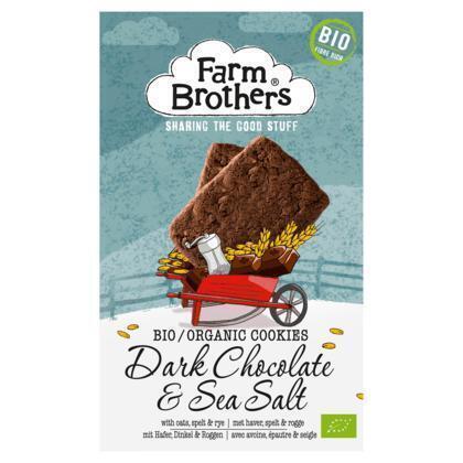 Biologisch koekje chocolade & zeezout (150g)