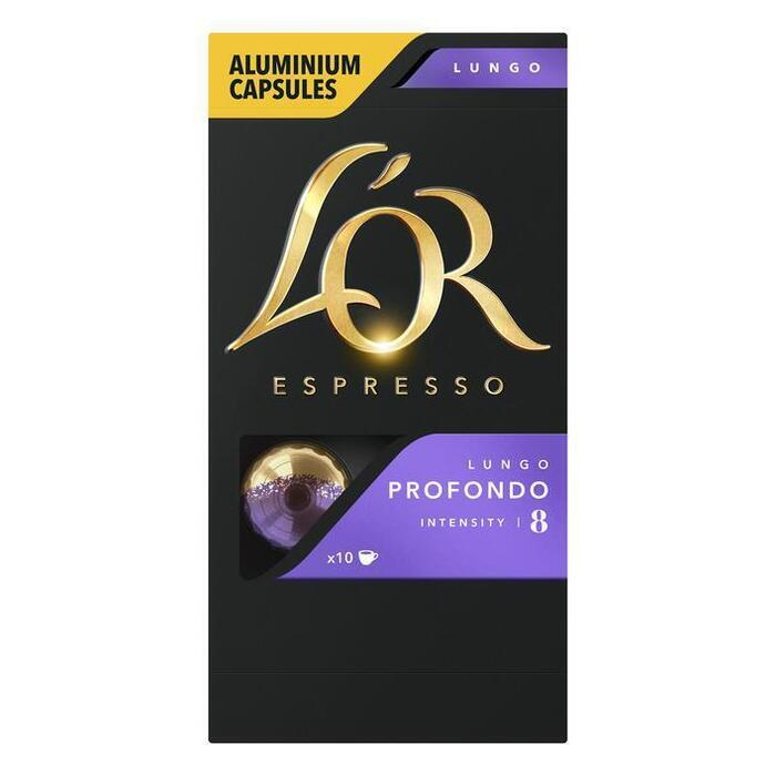 L'OR Espresso lungo profondo koffiecups (10 × 52g)