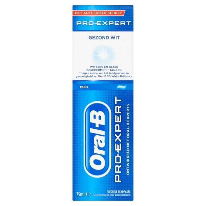 Oral-B Pro-Expert Gezond Wit Tandpasta 75ml (75ml)