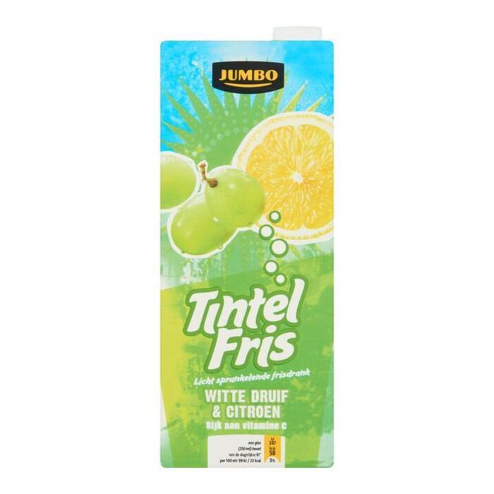 Jumbo Tintel Fris Witte Druif & Citroen 1, 5L (1.5L)