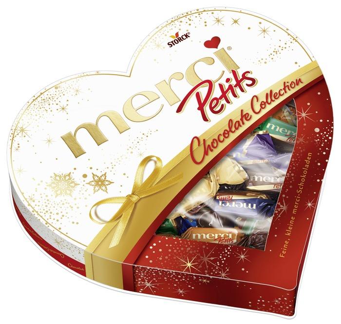merci Petits Hart Chocoladeproducten / bon bons / bit 250 g doos (250g)