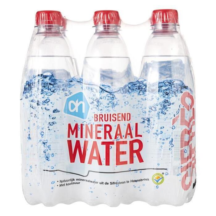 AH Mineraalwater koolzuurhoudend (6 × 0.5L)
