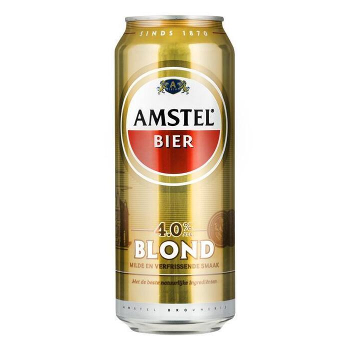 Amstel Bier Blond 4.0% (rol, 50 × 0.5L)