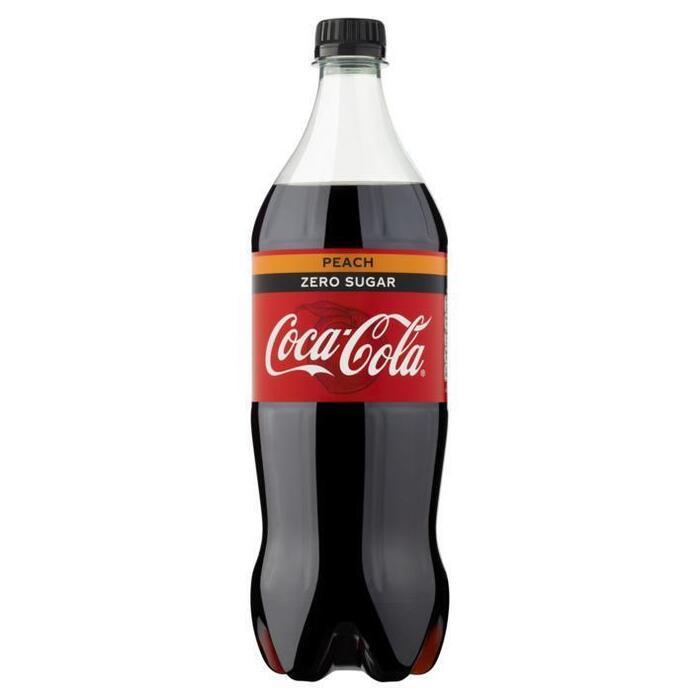 Coca-Cola Zero Peach Pet 1L 1x (rol, 100 × 1L)