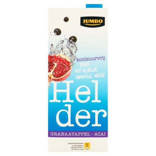 Granaatappel, Acai Helder (pak, 1.5L)