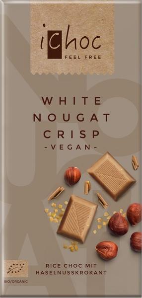 Rice choc white nougat crisp (80g)