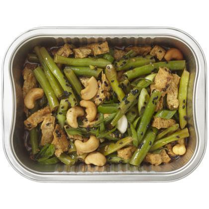 Roergebakken tofu met boontjes (300g)