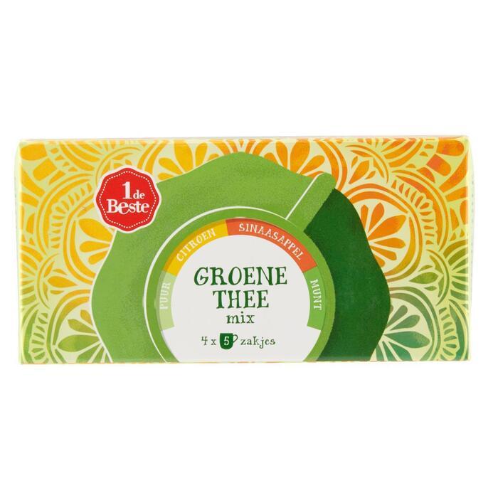 Groene thee fruit kop 20 zk (30g)