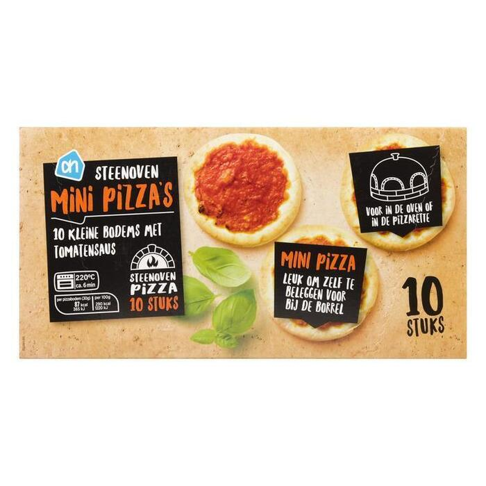 AH Steenoven mini pizza (10 st.)