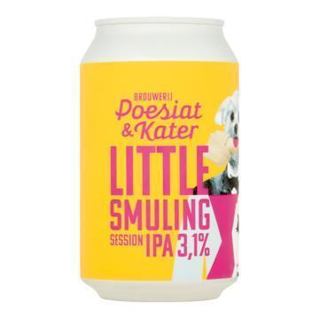 Poesiat & Kater Little Smuling Session IPA Blik 330 ml (33cl)