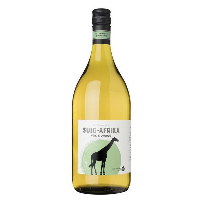 Volle Zuid-Afrikaanse Huiswijn, Charonnay (glas, 1L)