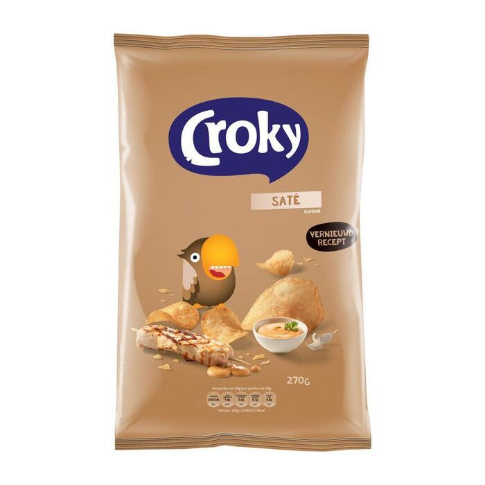 Croky Saté Flavour 270 g (270g)