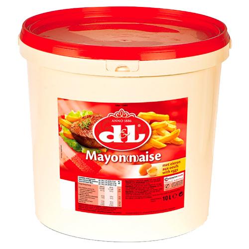 D&L Mayonaise met Eieren 10 L (10L)
