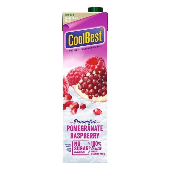 CoolBest Granaatappel framboos (1L)