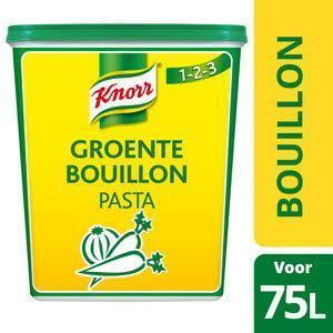 Knorr 1-2-3 Groentebouillon pasta (6 × 1.5kg)