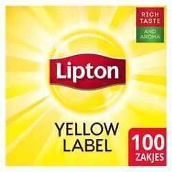LIPTON FEEL GOOD SEL.YELLOW LABEL100X1,8 (100 × 1.5g)